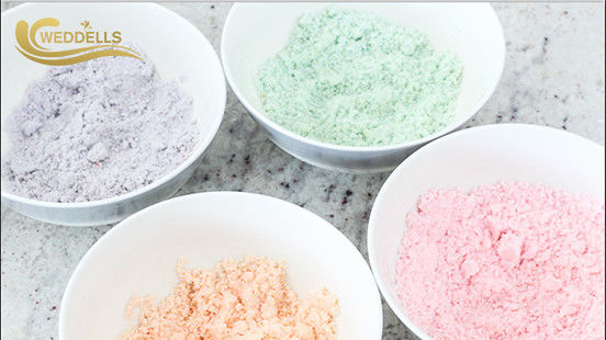 Foaming Bath Fizzy Powder Dust Moisturizing Bath Soak Packaging Kraft Epsom Salt