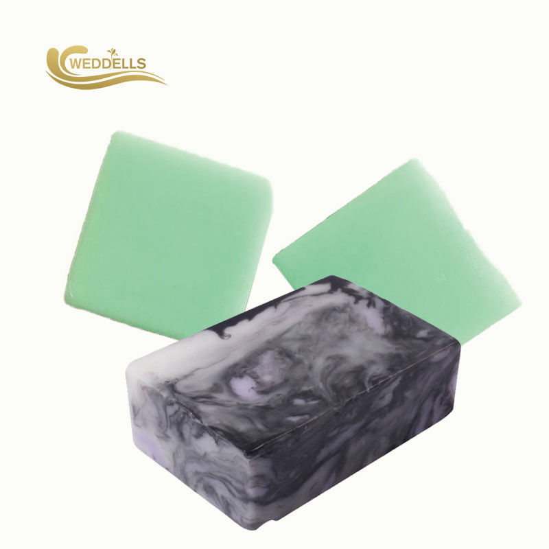 Square Natural Body Soap Bar Essential Oil 100g Fresh Scents For Toilet