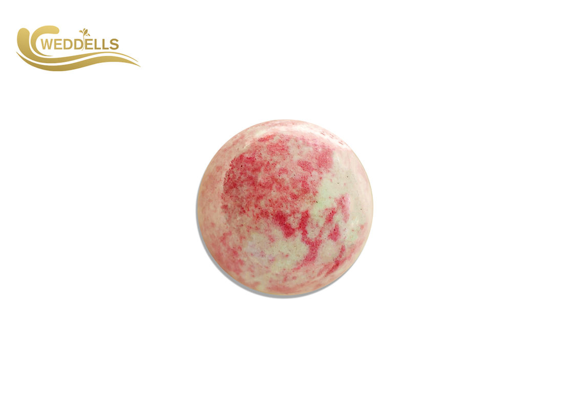 OEM CBD Bath Bomb With Natural Ingredients Two Colors Mixed 60g-160g